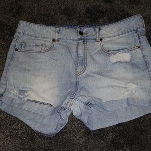 Forever 21 light wash shorts sz31